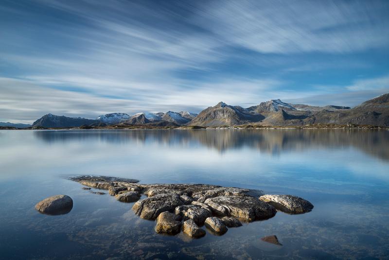 Lofoten Mountains Norway