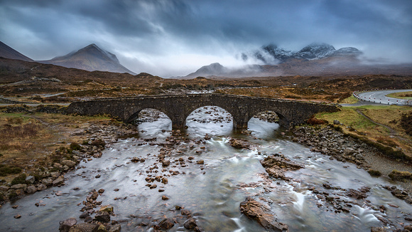 Sligachen old bridge Skye Scotland